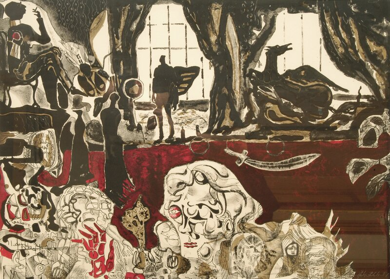 Komposisjon med figurer 1987