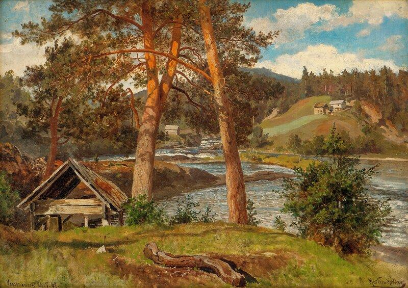 Fra Vossevangen 1862