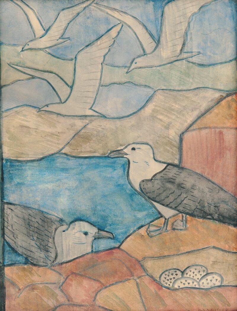 Måker 1918