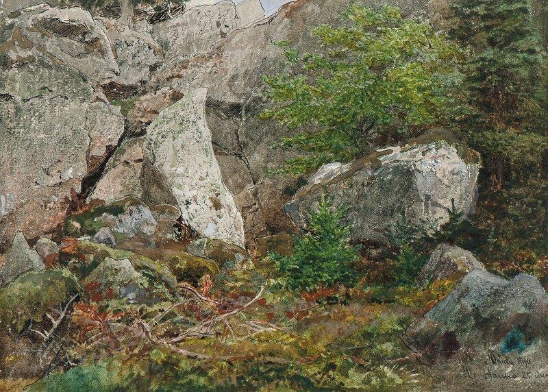 Fra Hankø 25 Aug 1896