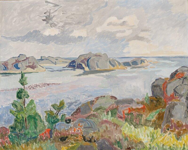 Lyngholmene, Gamle Hellesund 1956