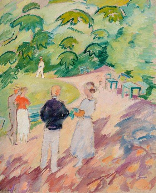 Fra Hankø 1920