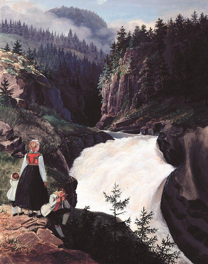 Rukkedals-Elven Næs i Hallingdal 1819