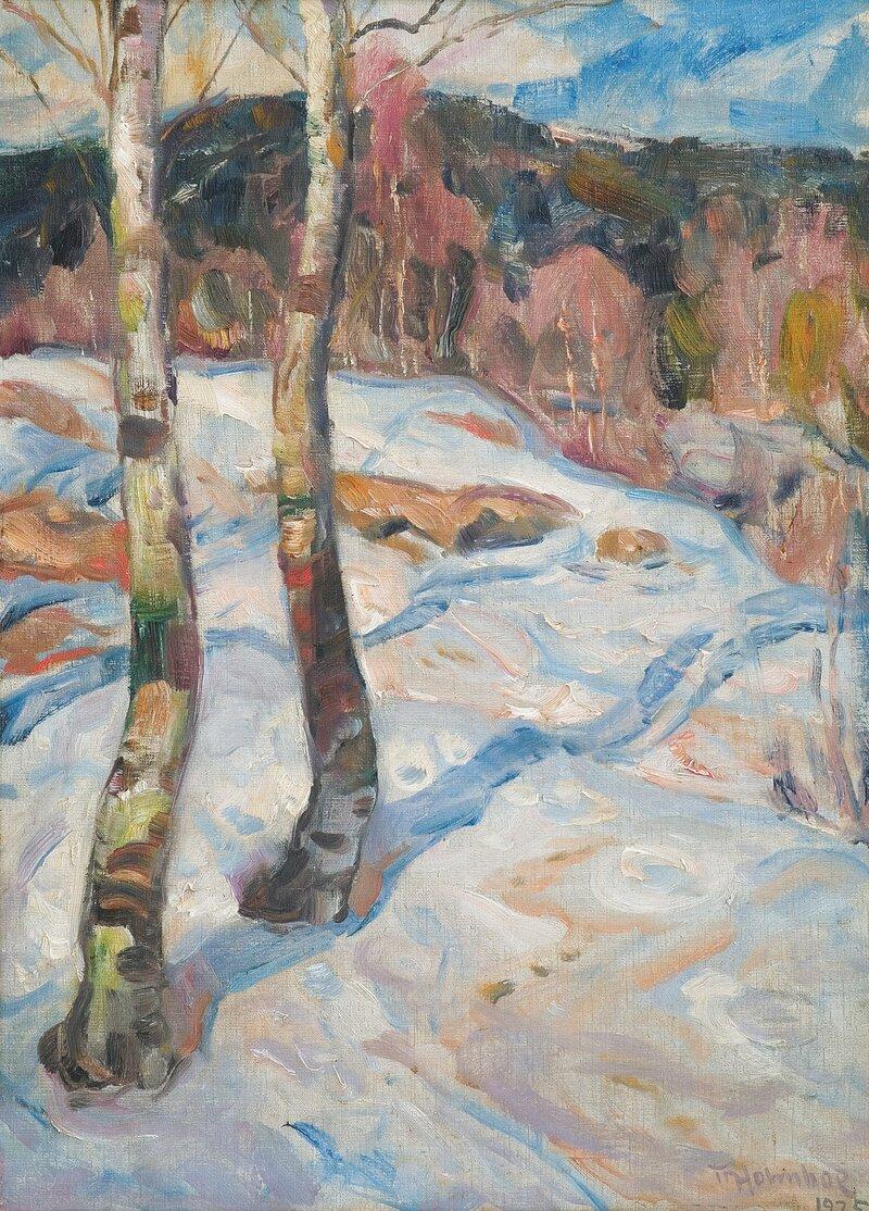 Tidlig på våren 1925