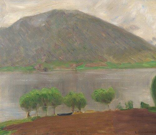 Landskap fra Kviteseid 1891