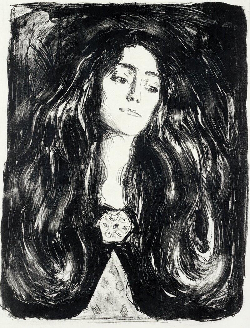 Brosjen. Eva Mudocci