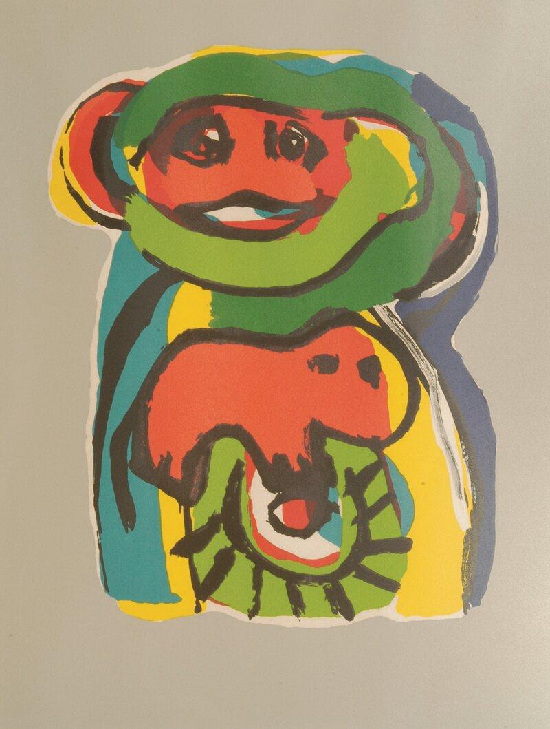 Komposisjon med figurer 1975