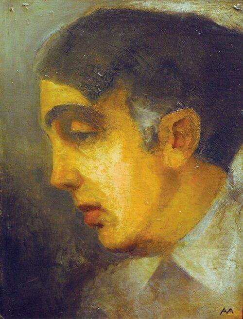 Portrett av Herman Wildenvey