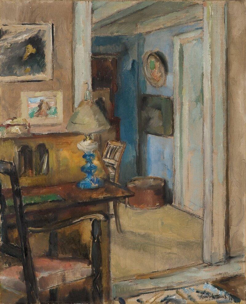 Interiør, Espevika 1934