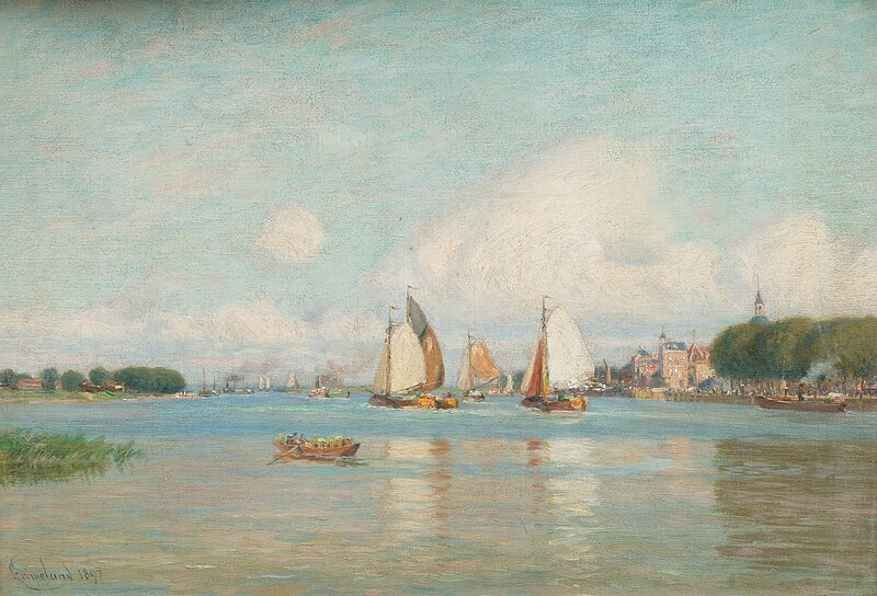 Fra Dordrecht, Holland 1897