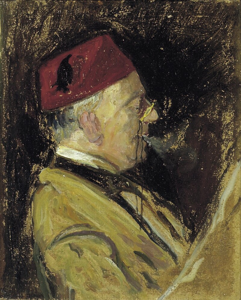 Kunstnerens far