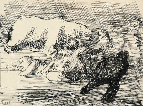 Kvitebjørn og troll Utkast til Per Gynt