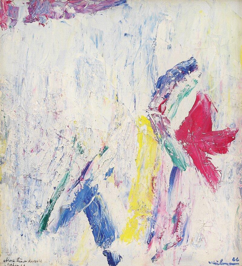 Den første blomst 1966
