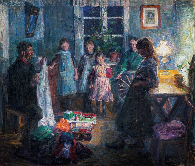 The peddler 1910