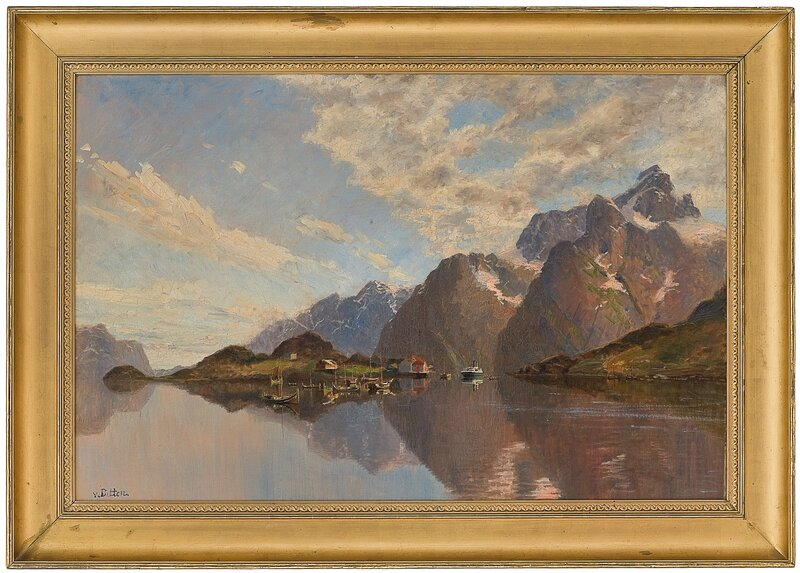 Fra Raftsund i Lofoten