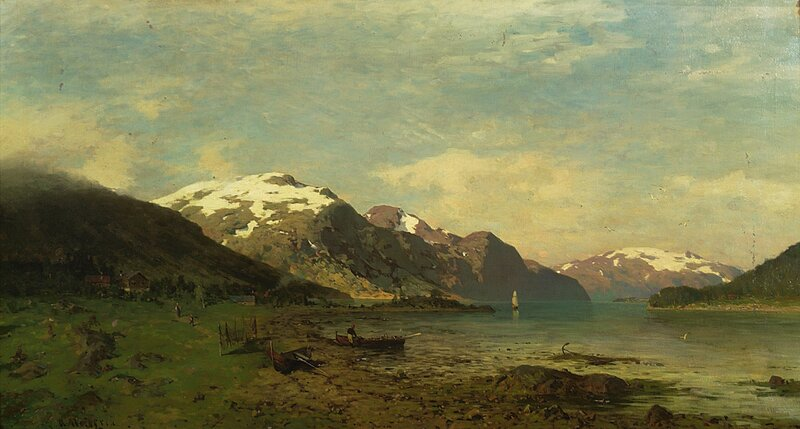 Norsk fjordlandskap
