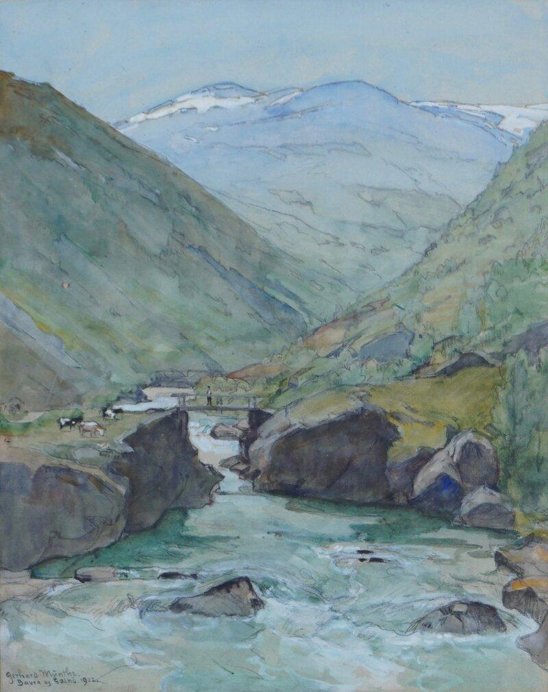 Bævra og Galhø 1922