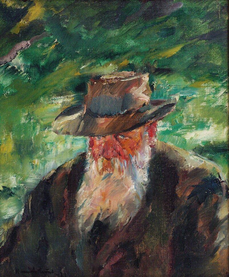 Portrett av Christian Krohg 1921