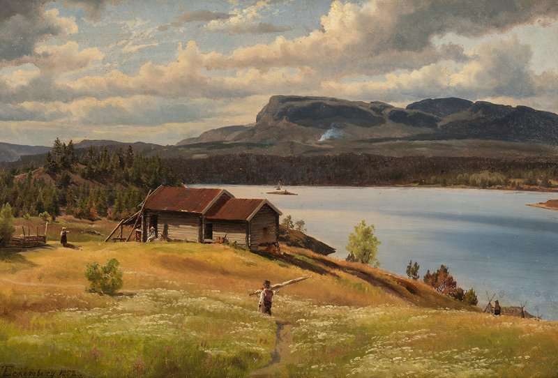 View towards Kolsåstoppen 1852