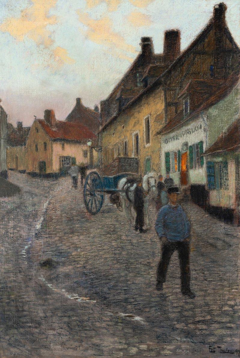 Part of a Road (Cavée Saint-Firmin, Montreuil-sur-Mer) 1894