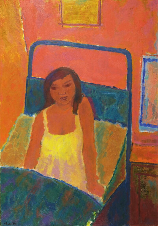 Piken i sengen 1946