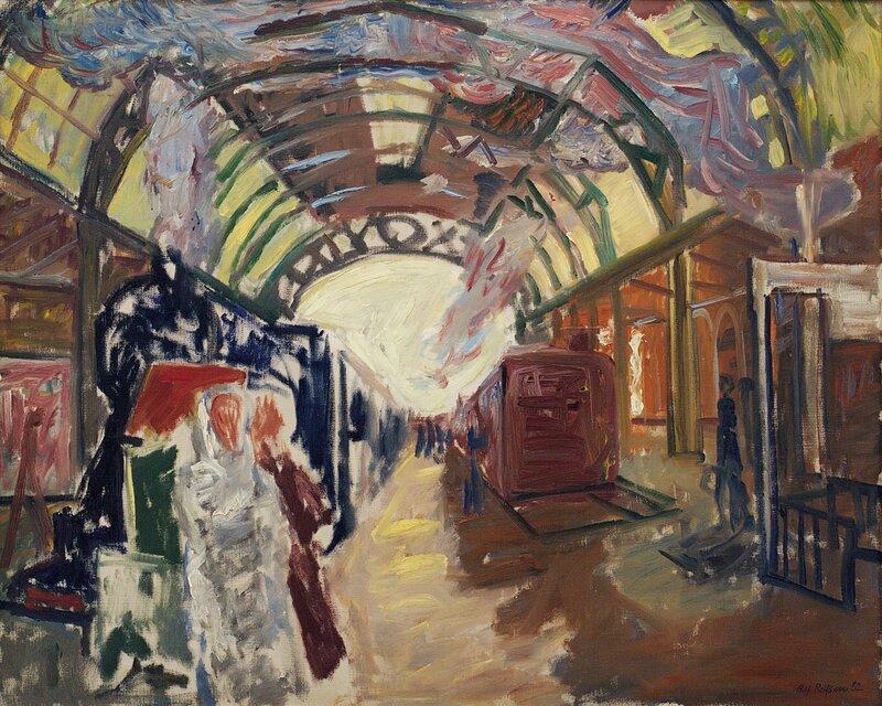 Jernbanehall 1932