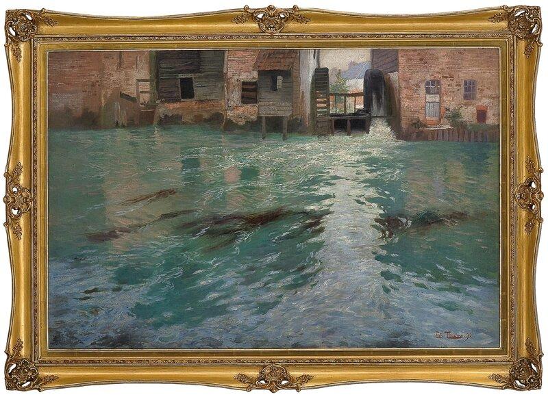 Bak møllene, Montreuil-sur-Mer 1892