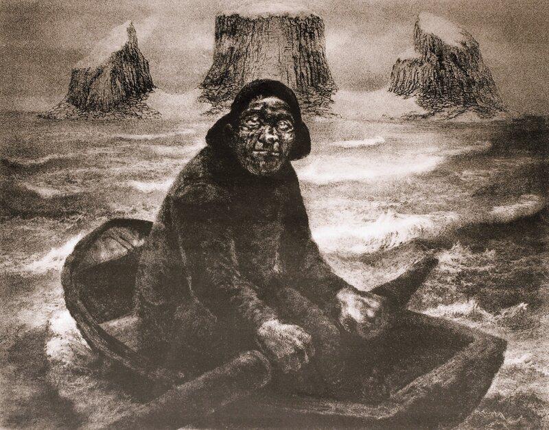 Peder på Røsthavet 1955