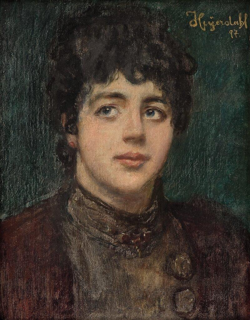 Kvinneportrett 1897