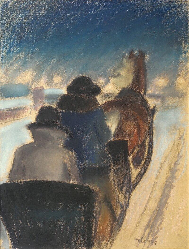 Sledekjøring 1925