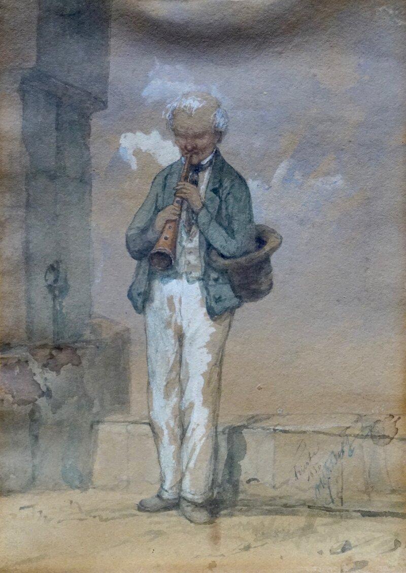 En Pifferaro, Trieste 1850