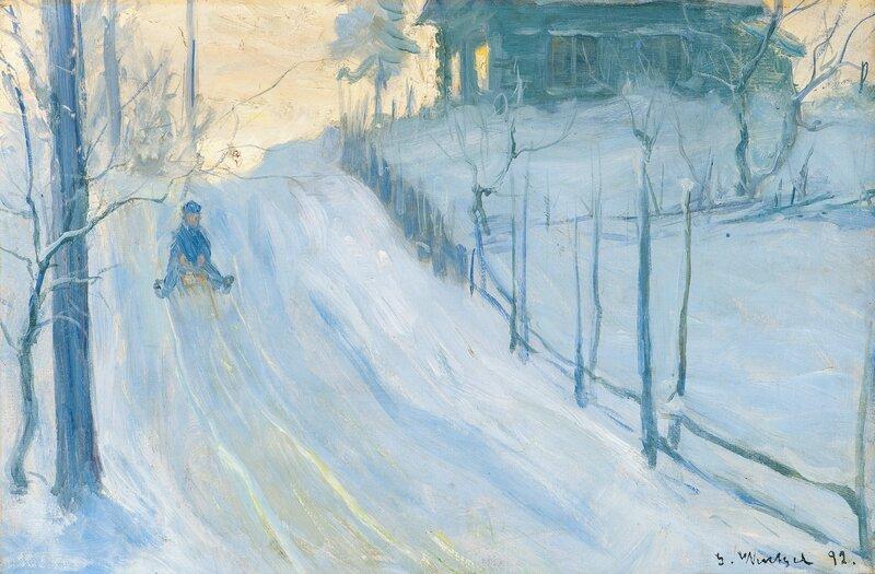 Akende gutt, Asker 1892