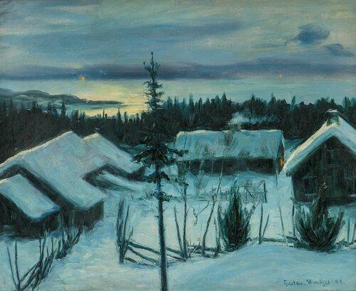 Vinternatt 1895