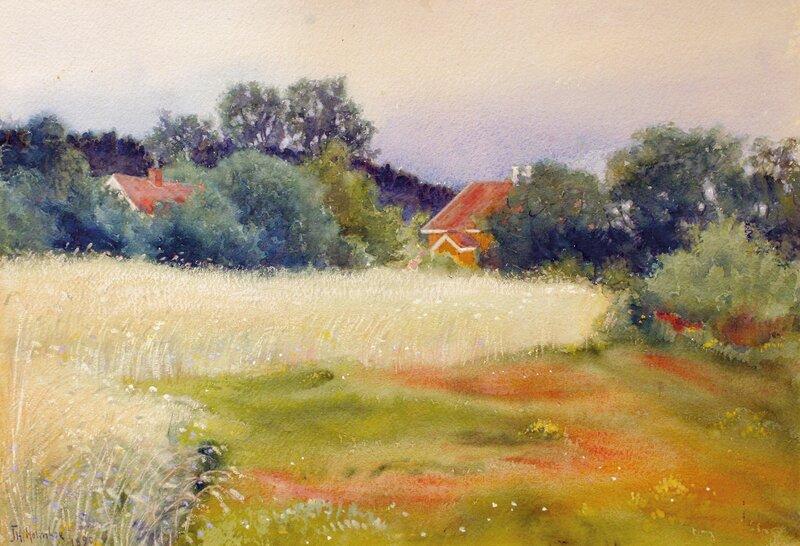 Fra Åsgårdstrand 1890