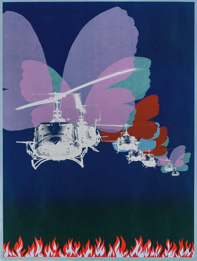 Amerikanske sommarfuglar 1971