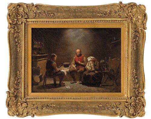 Et sørgebudskap 1848