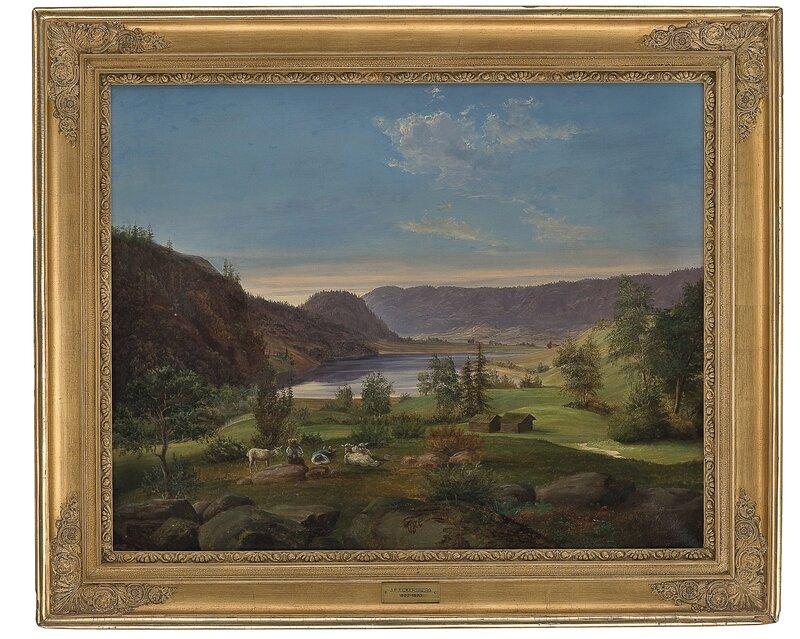 Landskap med gjetere 1844