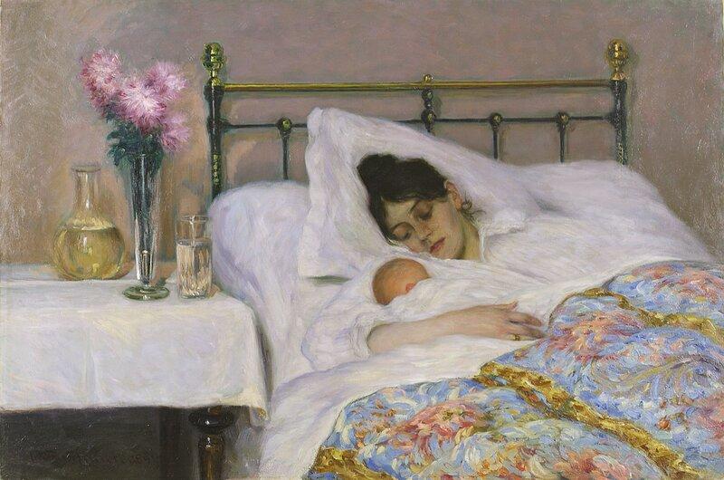 Mor og barn 1894