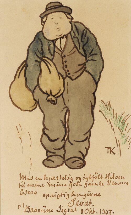 Han Sevat, farvel 1907
