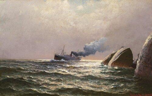 Kystruteskipet Kong Haakon II 1908