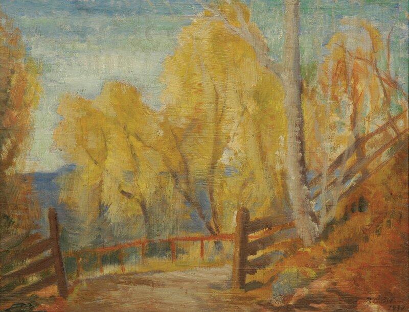 Høstskisse 1934