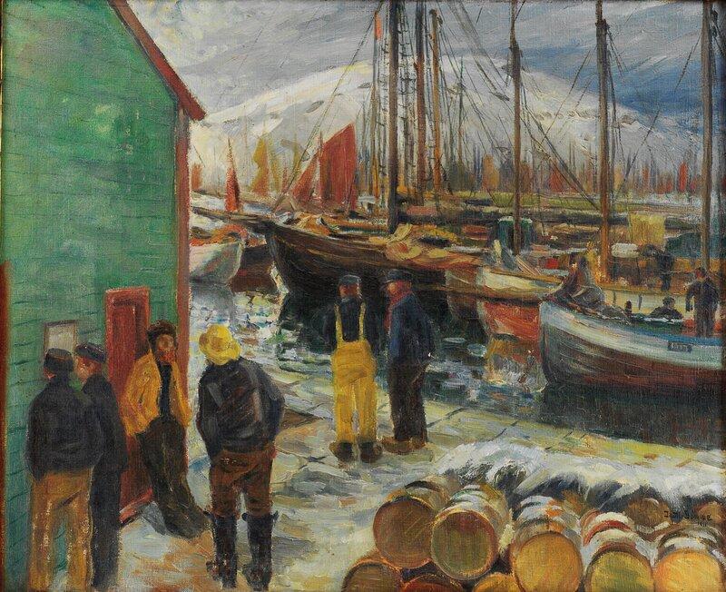 Havneparti 1911