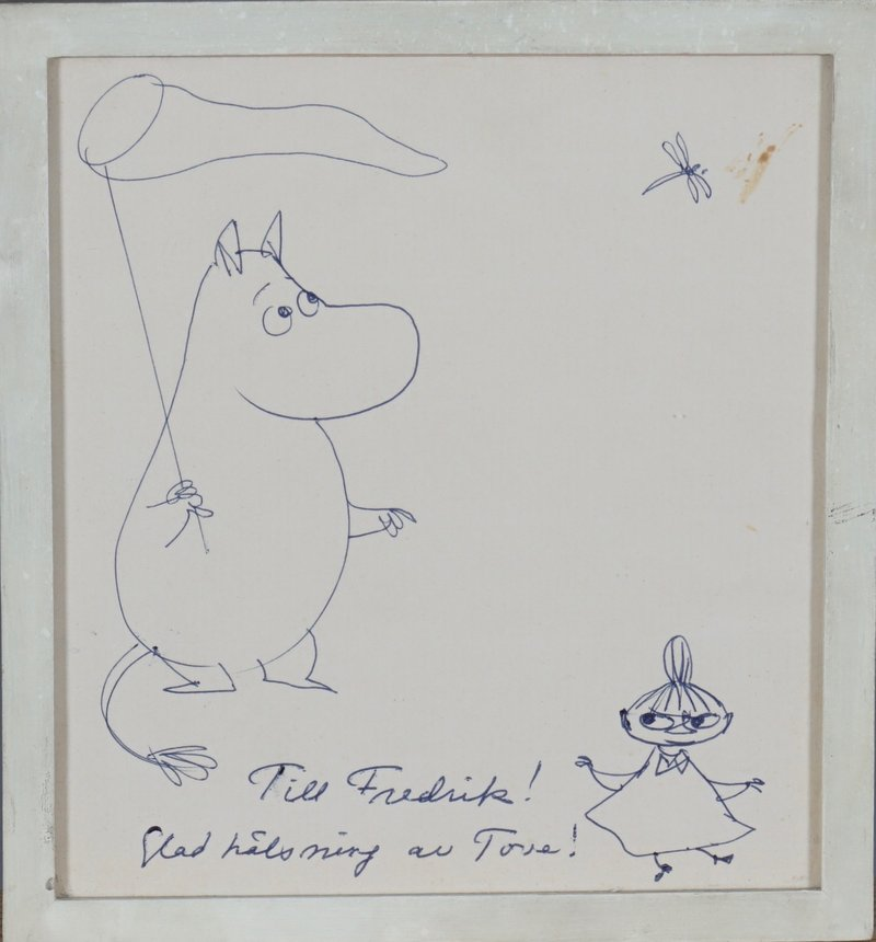 The Moomintroll and Little My