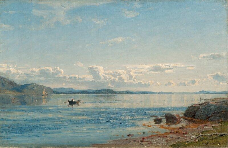 Bømlo, Innseilingen til Hardanger