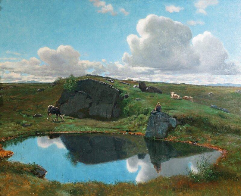 Vakkert på Norefjellet 1903
