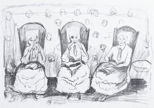 Tre gamle damer