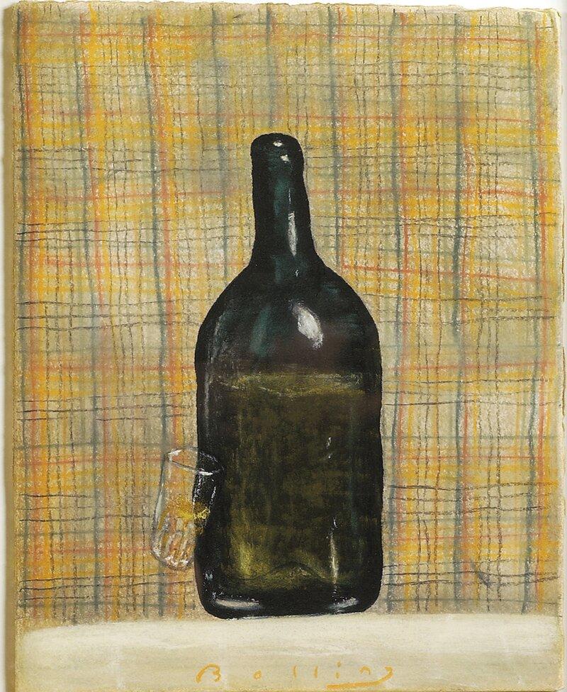 Flaske og glass