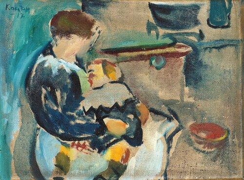 Mor og barn 1917