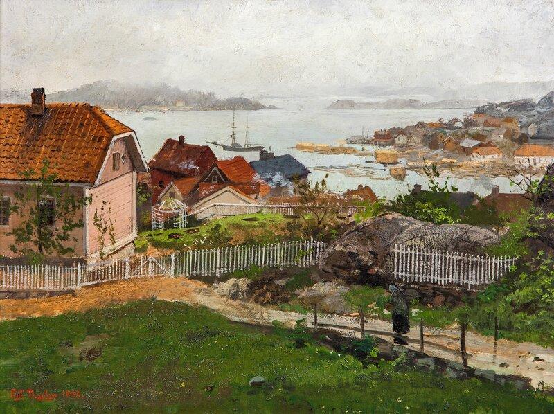 Fra Kragerø 1882