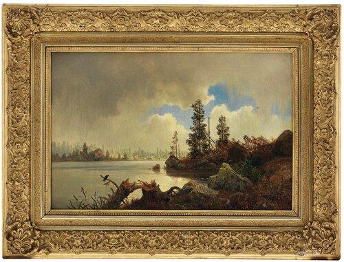 Fra Nordmarka 1849